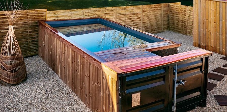 Pool Container - fabricant de conteneur piscine a La Rochelle