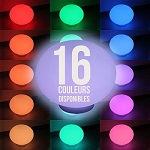 Boule lumineuse led multicolore pour piscine