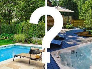 Spa de nage ou piscine : avantages et inconvénients