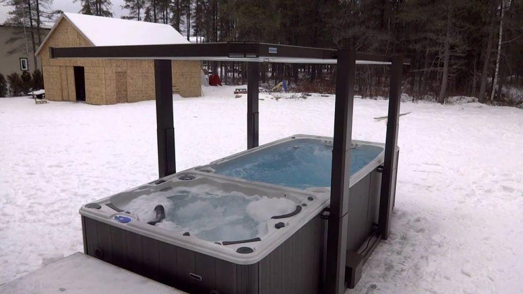 Couvercle couverture isolante haute densite pour spa de nage