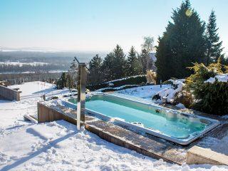 Utiliser son spa de nage en hiver