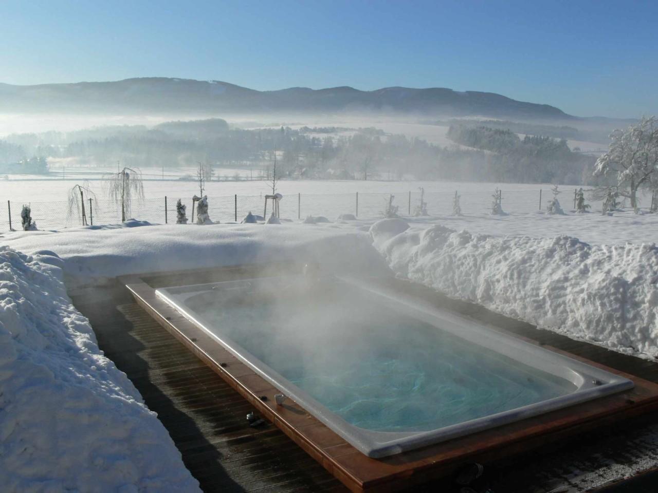 conseils pour utiliser un spa de nage en hiver et limiter la facture energetique