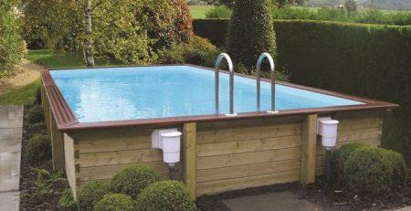 Les piscines bois en kit